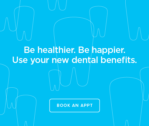 Be Heathier, Be Happier. Use your new dental benefits. - Potranco Dentistry